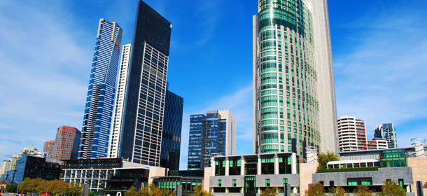 Melbourne Skyline 2012 -  Southbank